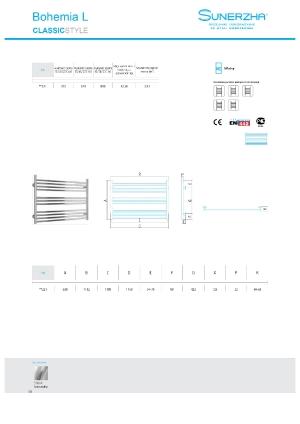Katalog Sunerzha 2017 - Bohemia L - dane techniczne