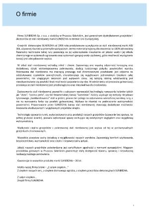 Katalog Sunerzha 2017 - informacje o firmie